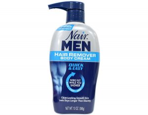 nair back hair removal cream